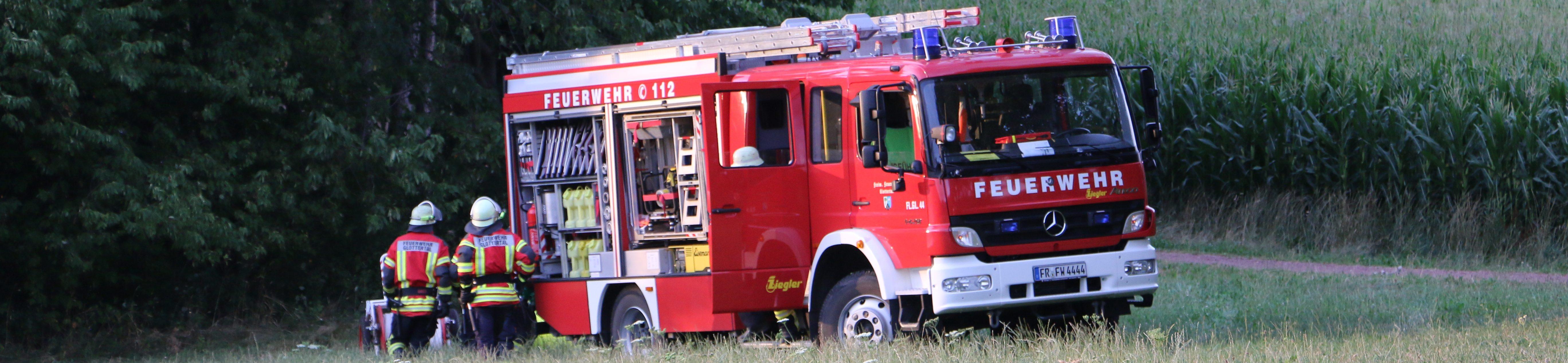 Herzlich Willkommen bei der Freiwilligen Feuerwehr Glottertal